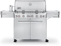 Weber grill Summit S-670 stainless steel